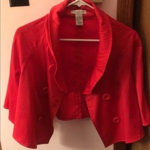 4198637d133 ... Steve Madden blazer -red ...